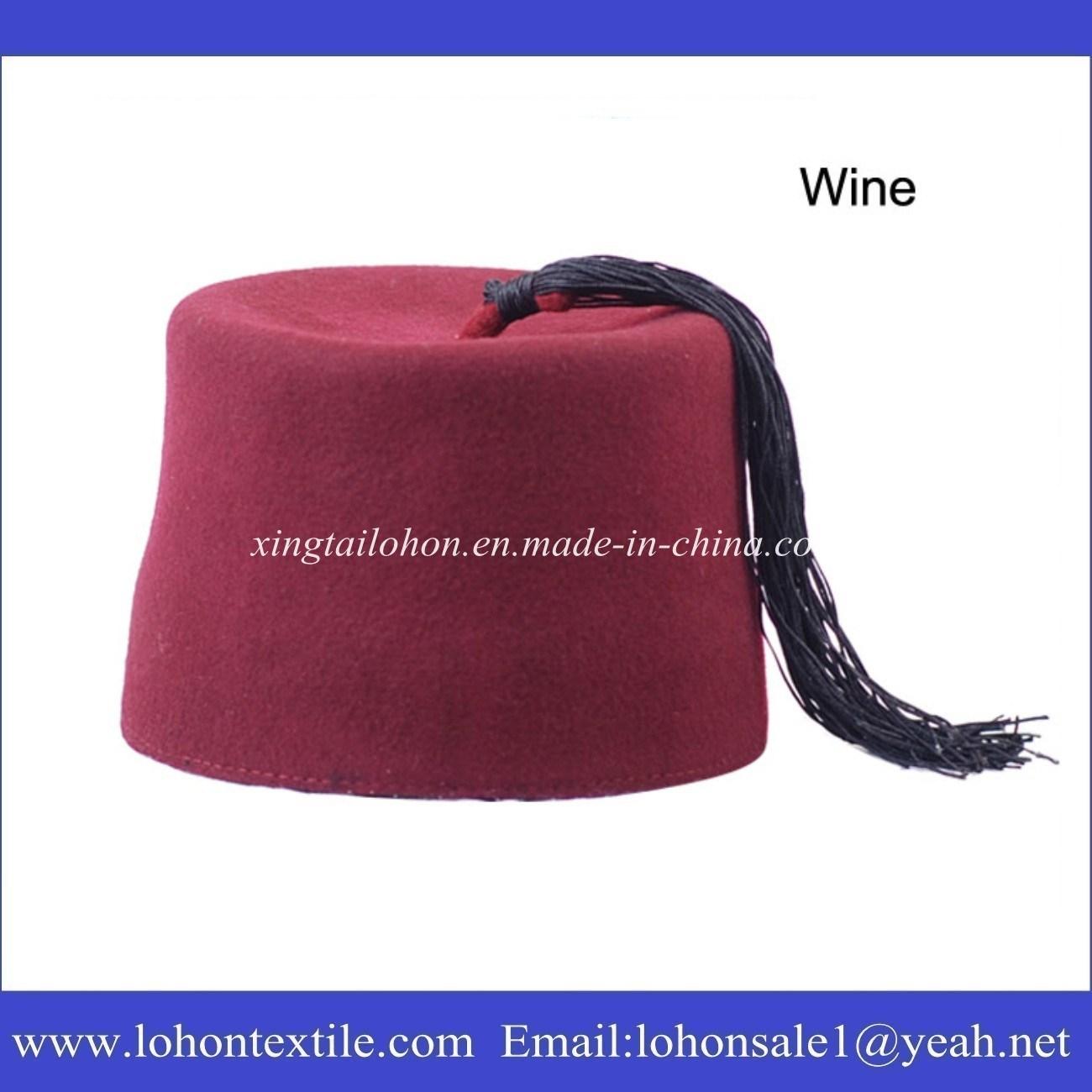 Woolen Ottoman Hat Islamic Turkish Cap for Arabic