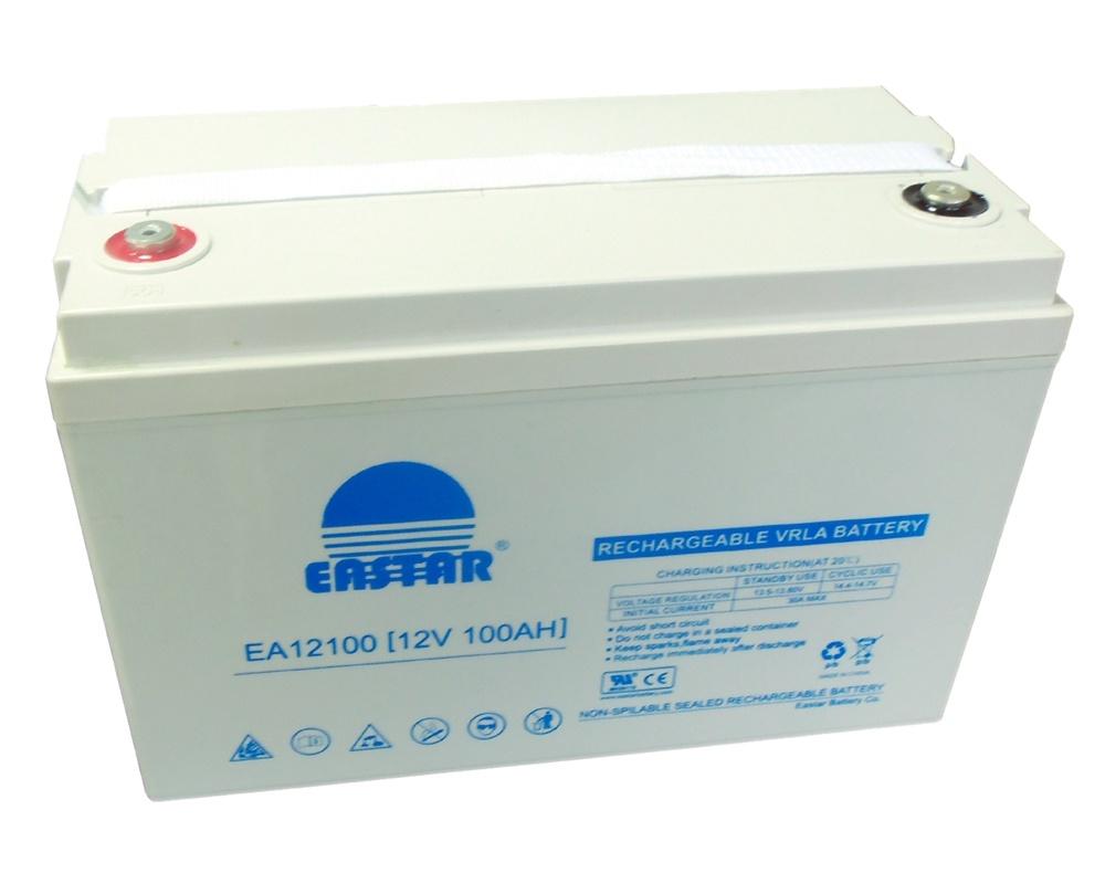 Storage Sealed Lead Acid 12V 100ah Solar Battery