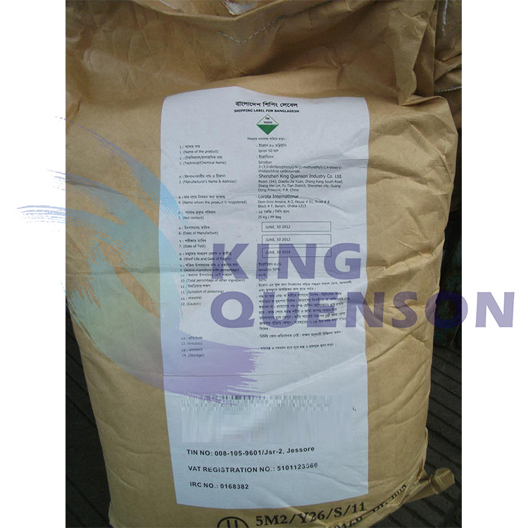 King Quenson Fungicide Crop Protection Iprodione 96% Tc Iprodione 255 G/L Sc