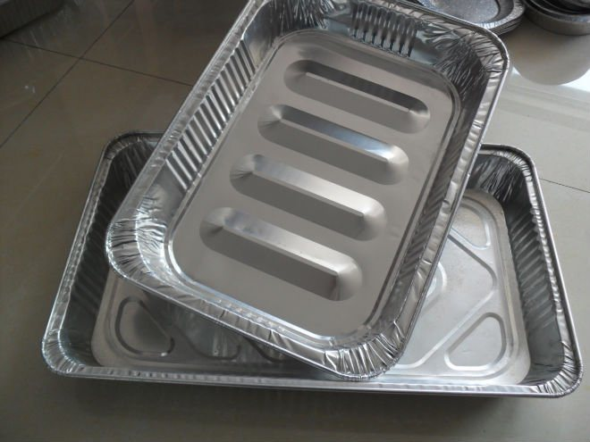 Aluminium Container Foil Food Use Kitchen Use