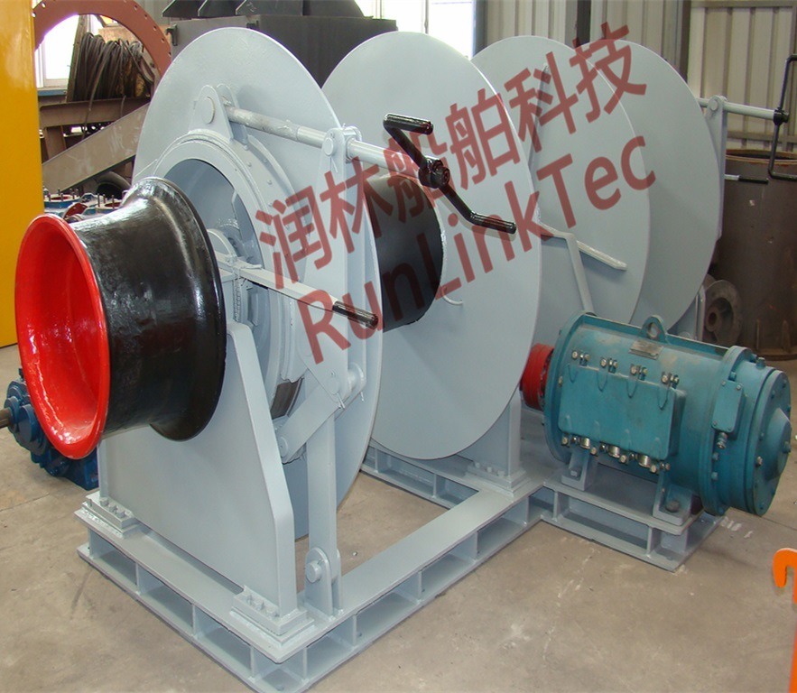 Two Drum Electric Mooring Winch