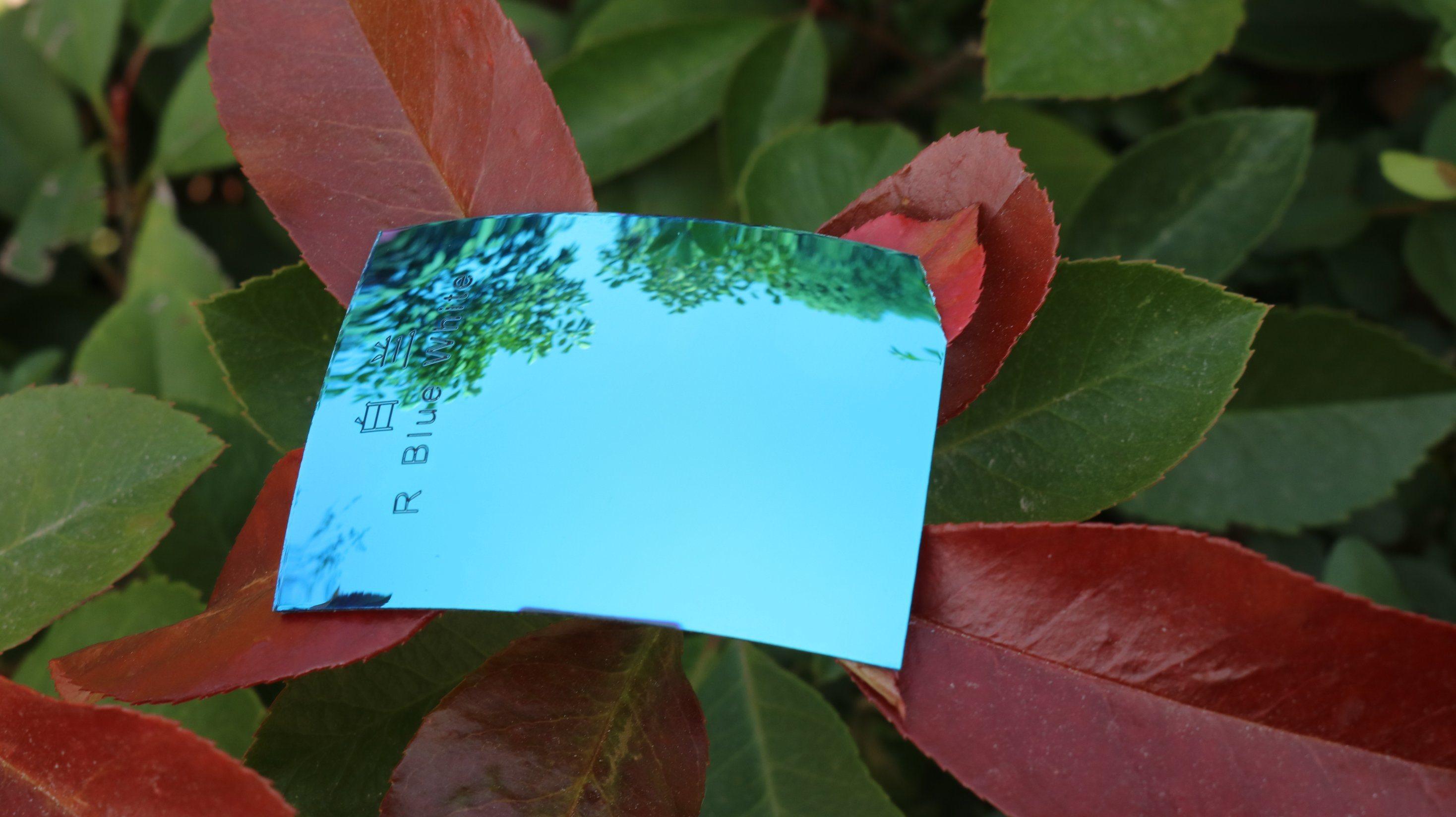 Colorful Eyeglasses Polarized Tac Lens (R Blue White)