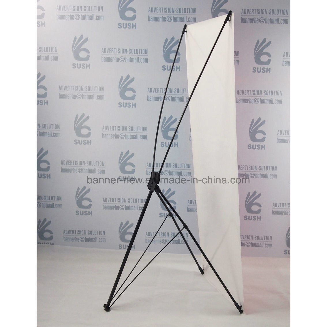 Iron X Stand, X Banner Stand (60X160)