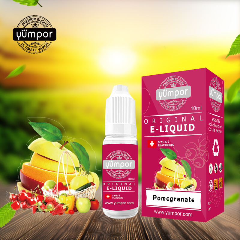 Tpd Yumpor Vape Ejuice Great Taste Green Apple Free Samples Available