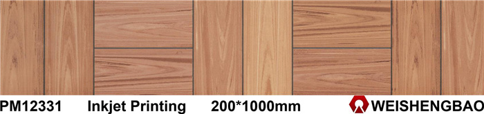 Original Wood Looking 200X1000mm 3D Ceramic Tiles