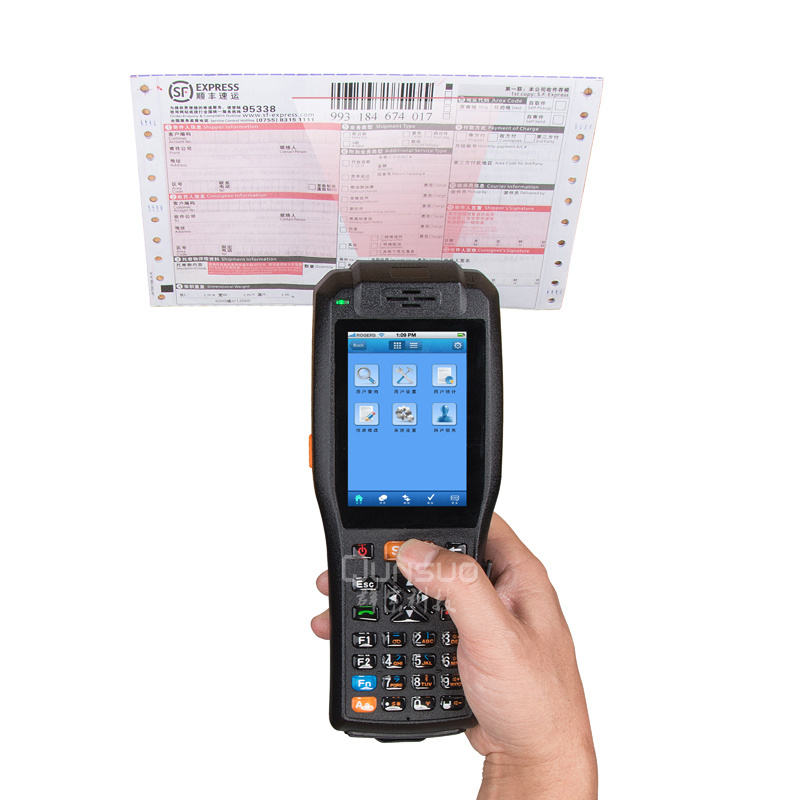 3G Wireless Data Collection Terminal Android with Thermal Printer and NFC Reader