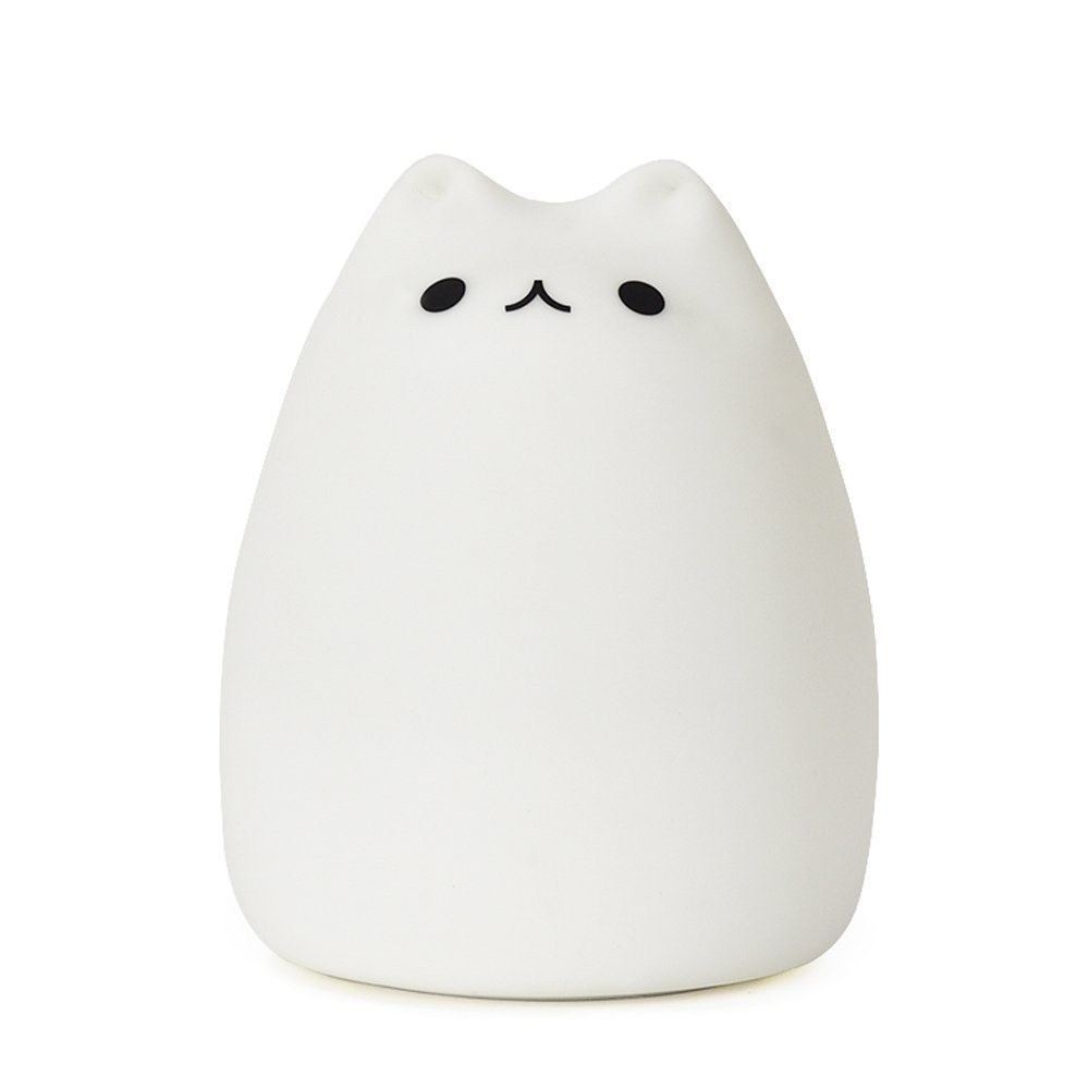 Silicone Cat Night Lights Children Cute Night Lamp