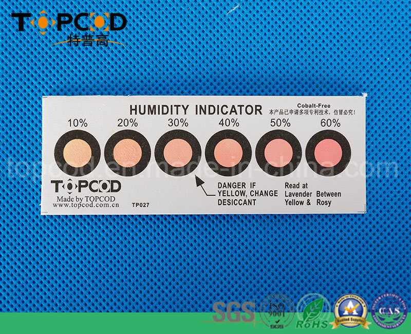 6 Dots Cobalt Free Humidity Indicator Card (HIC)