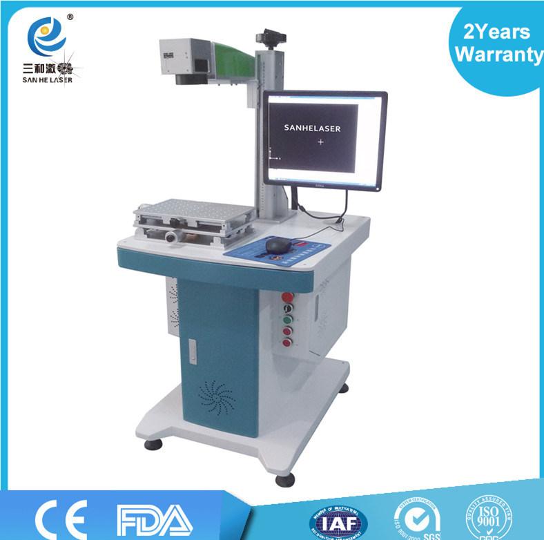 20W China Factory Fiber Laser Marking Machine Ss Depth Metal Aluminum PP Plastic Ce FDA