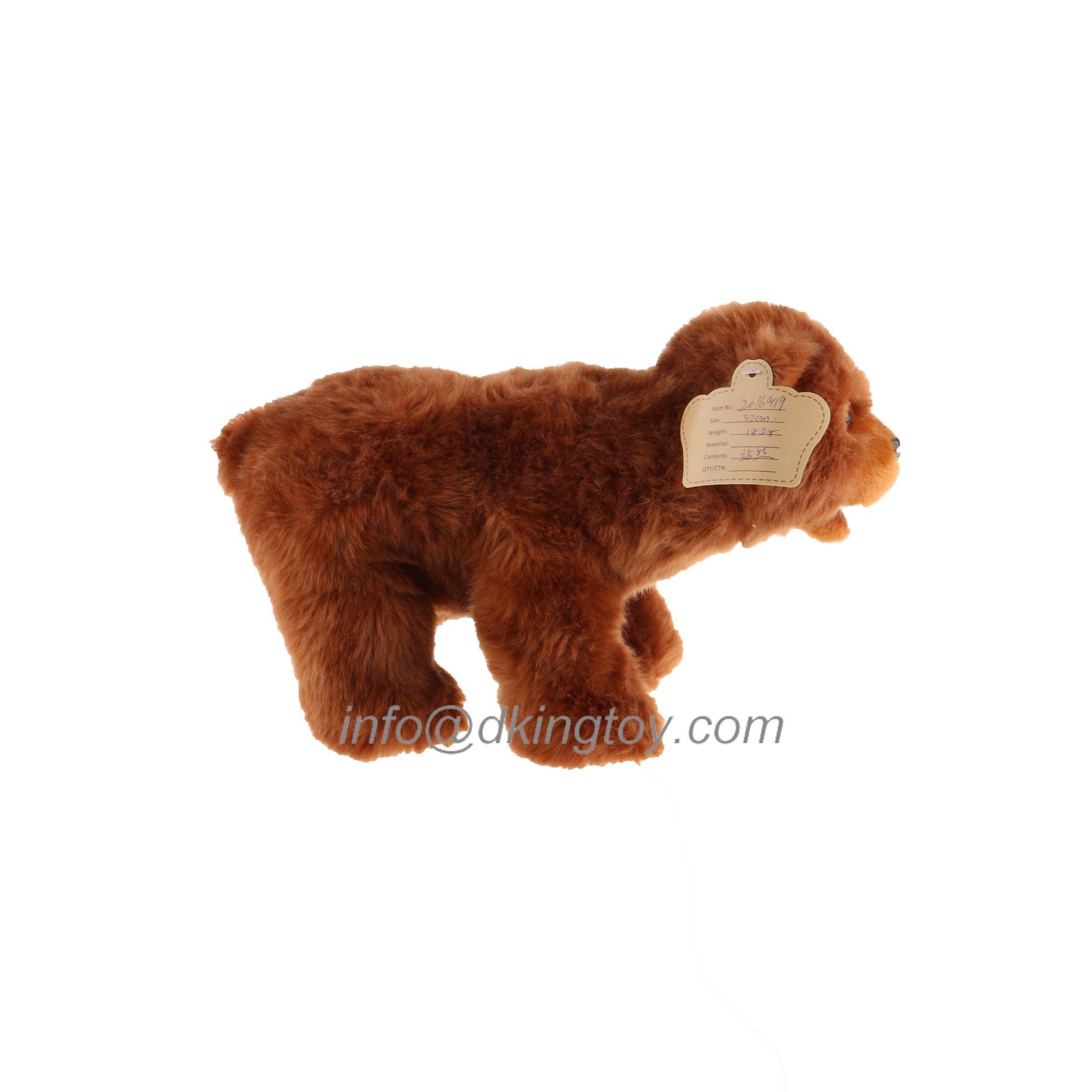 Plush Emulation Stuffed Bear Toy for Kids