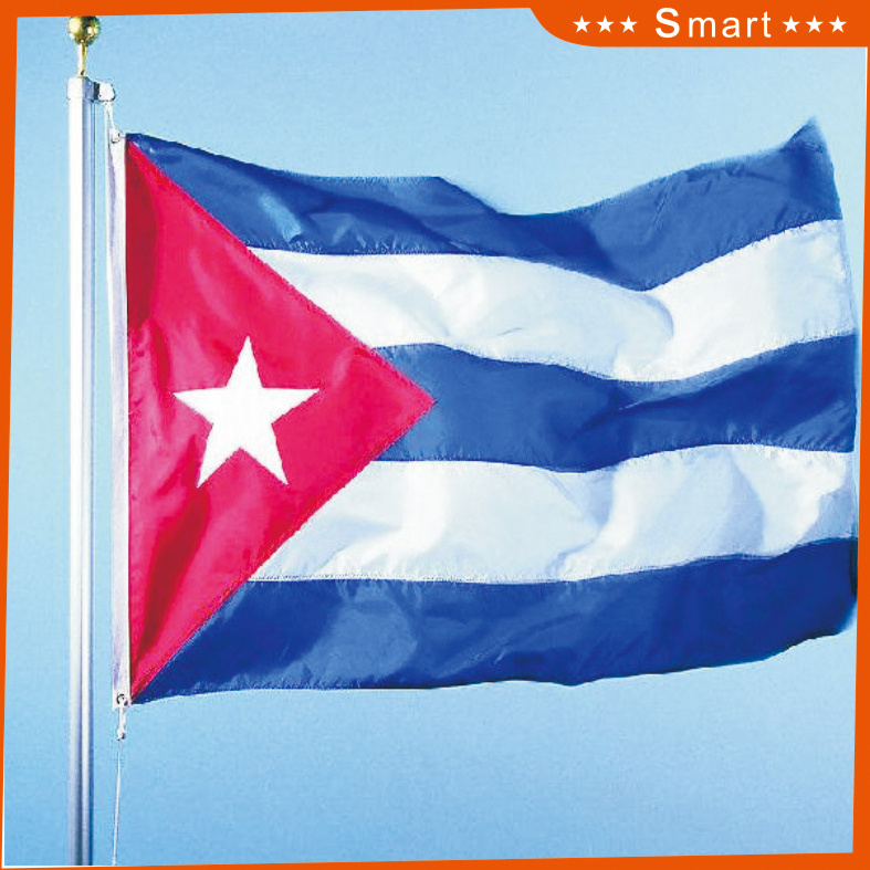 Custom Waterproof and Sunproof National Flag Cuba National Flag Model No.: NF-024