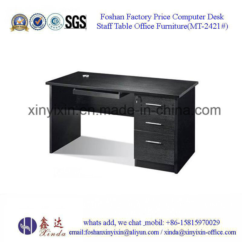 China Wooden Furniture Melamine Staff Office Desk (MT-2424#)