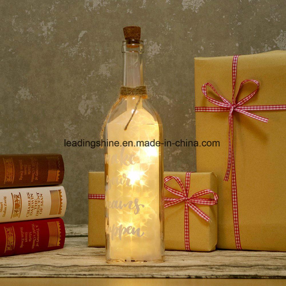 Starlight LED Light Bottle Your Very First Breath Sentimental Friend Gifts Bottles