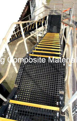GRP Fiberglass Anti-Slip Stair Nosing