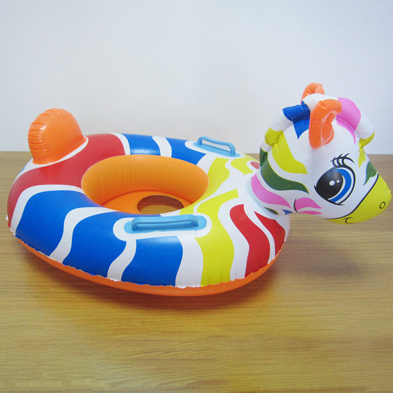 PVC Inflatable Animal Floating Baby Seat for Kids
