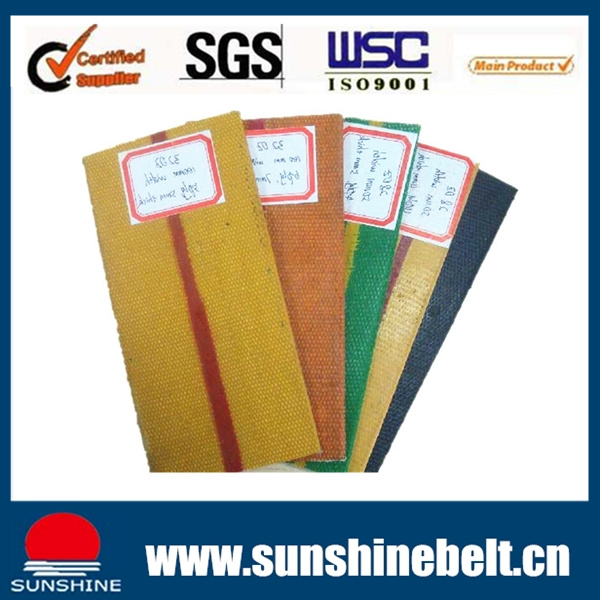 Polyester Flat Transmission Belt High Strength