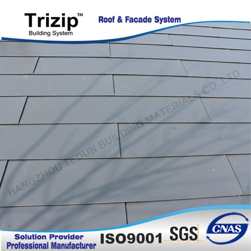 Classy Rectangular Shaped Shingles Roof
