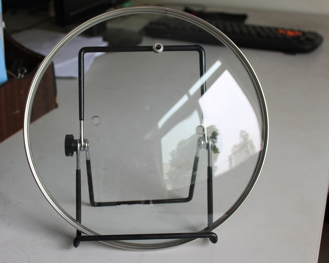 G Type Round Tempered Glass Lid