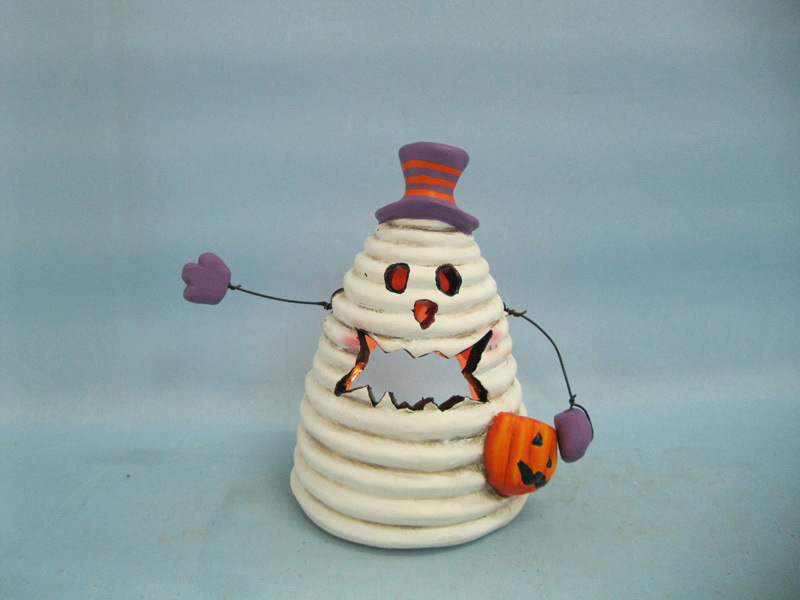 Halloween Pumpkin Ceramic Arts and Crafts (LOE2380-14z)