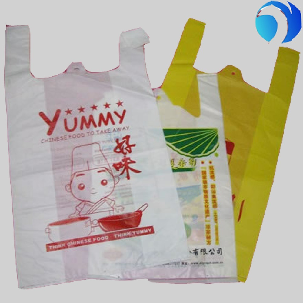 T-Shirt Bags for Supermarkets