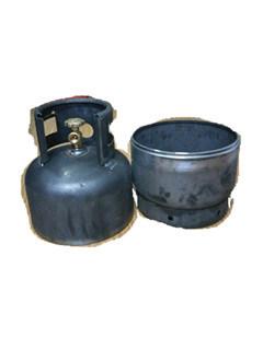 Steel LPG & Gas Tank Cylinder Parts-9kg