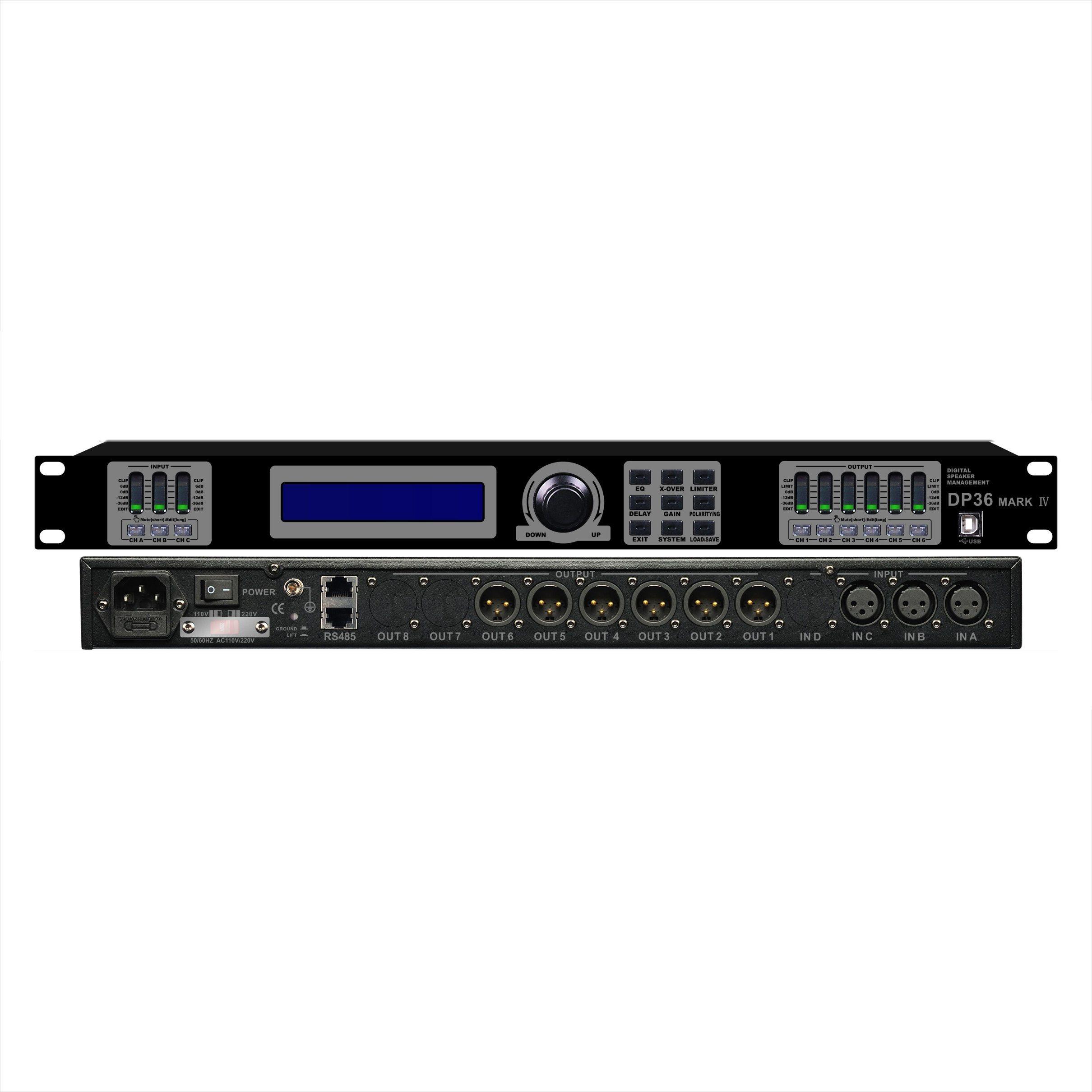 Dp-36 Professional Audio Processor Amplifier