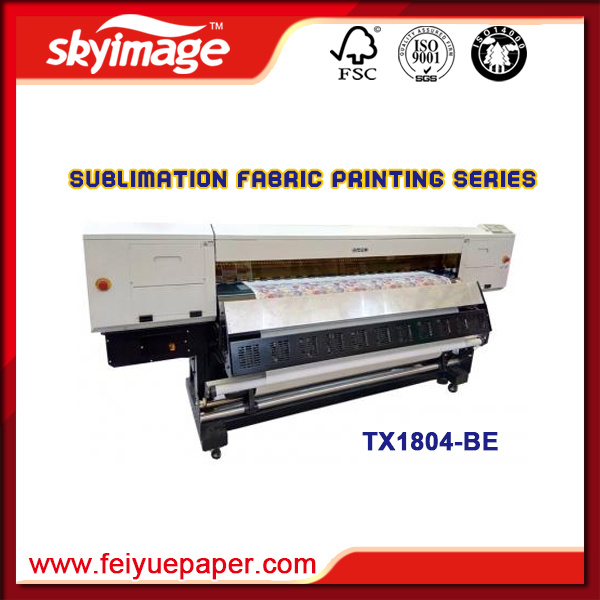 Oric Digital Dye Sublimation Inkjet Printer with Four 5113 Printheads Tx1804-Be