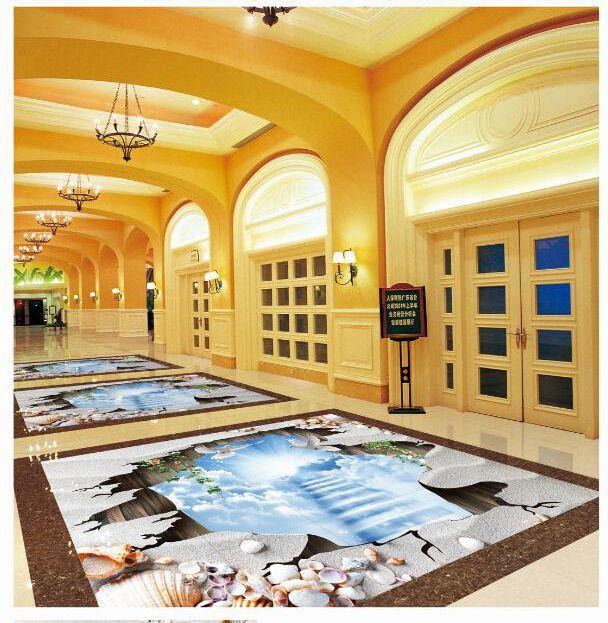 3D Floor Tile Sea World New Design Interior Tiles
