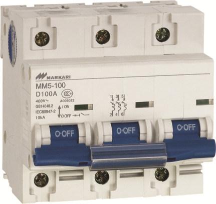 Mini Circuit Breaker (MM5-63-3P)
