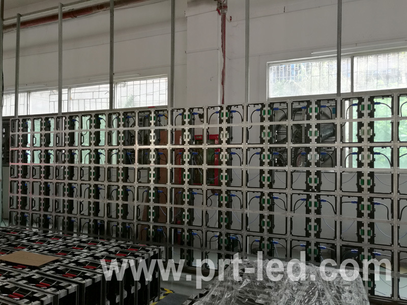 500X500mm Magnetic Front Access LED Display Panel for Outdoor/Indoor Rental (P3.91, P4.81, P5.95)