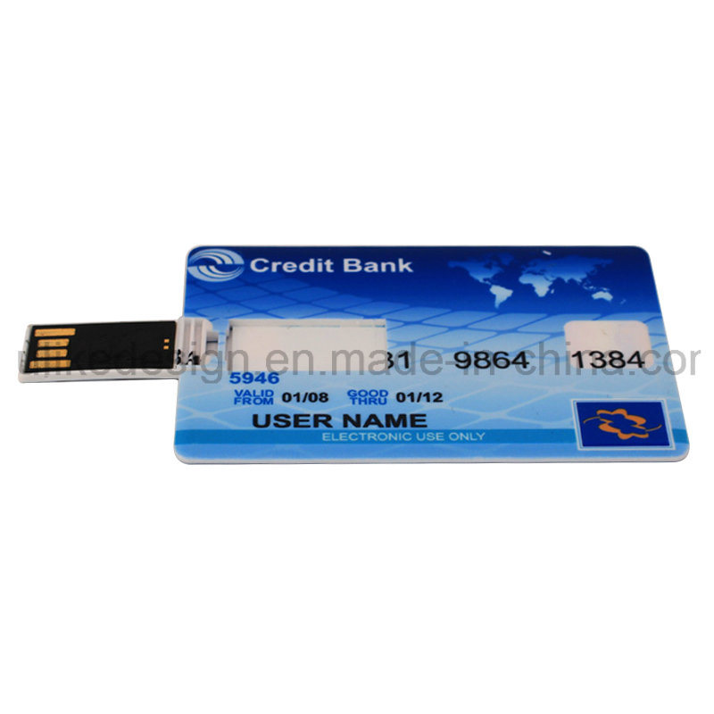 Big Logo Promotion/Bulk Card Tyep USB Flash Disk/ Flash Drive (UL-P003)