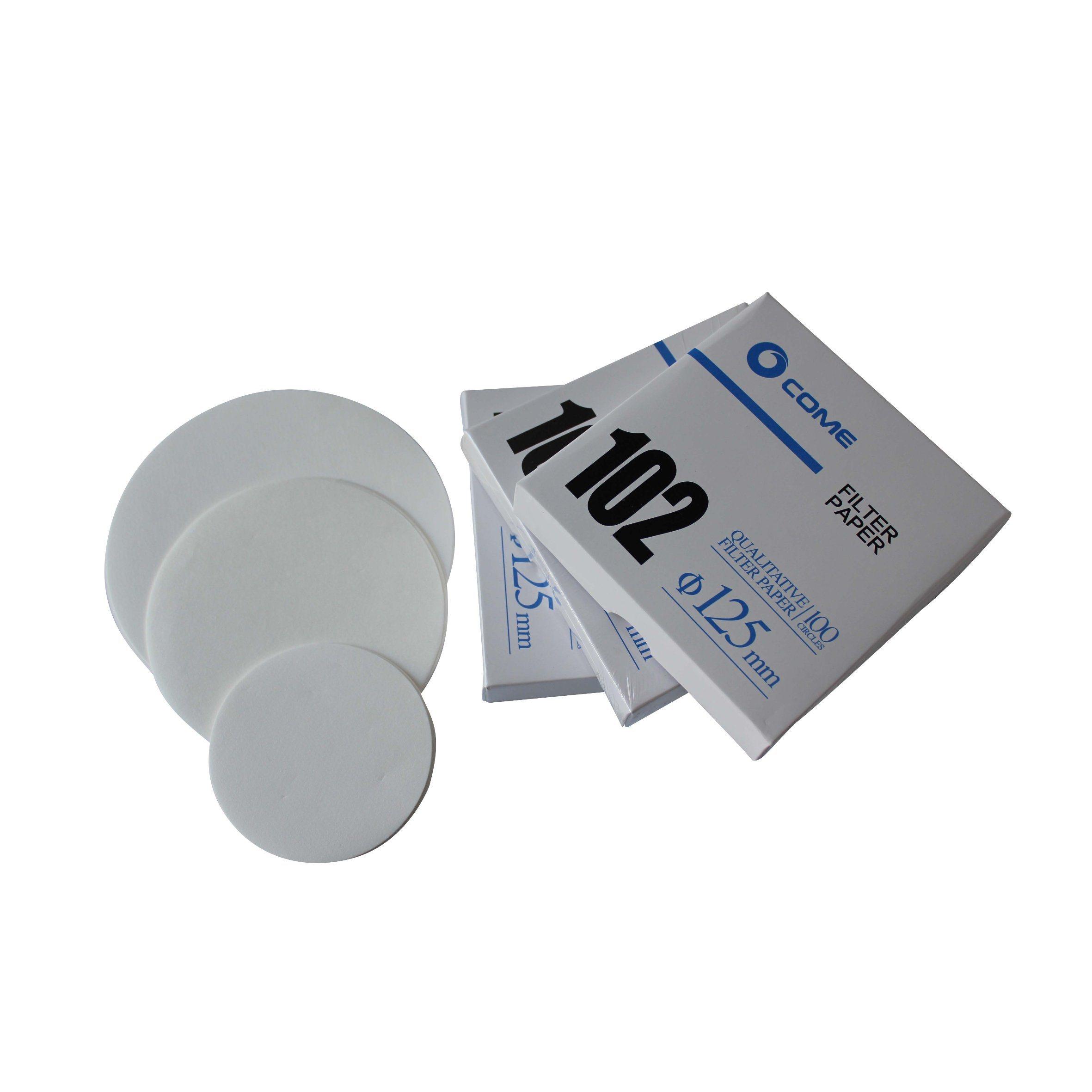 New Premium 100% Cellulose Qualitative Filter Paper for Paper Filtro