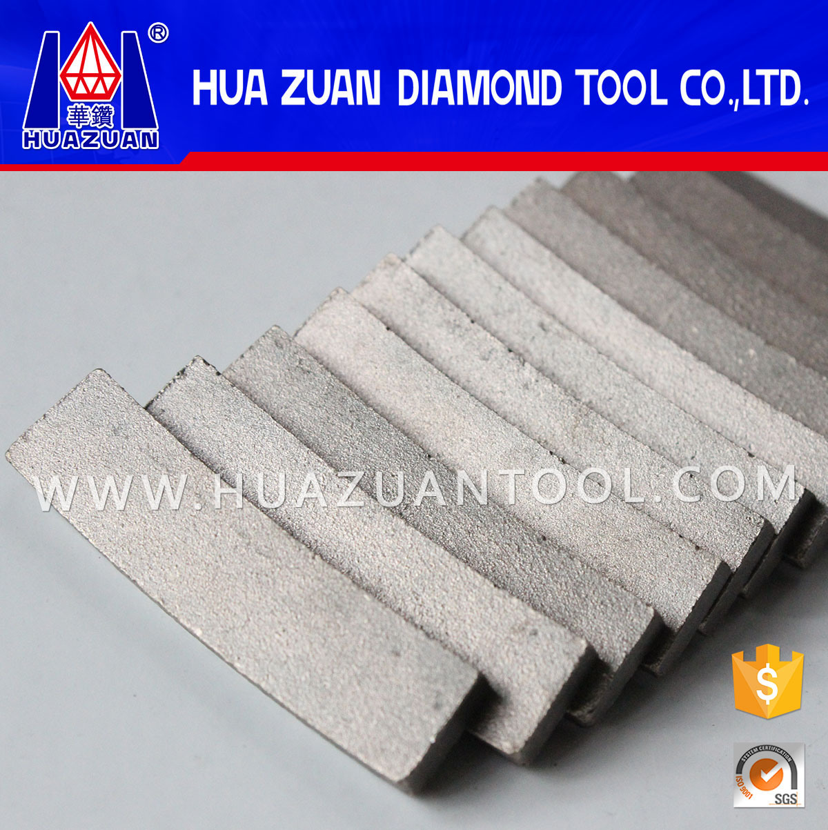 Fan Shape Diamond Segment for Cutting Granite