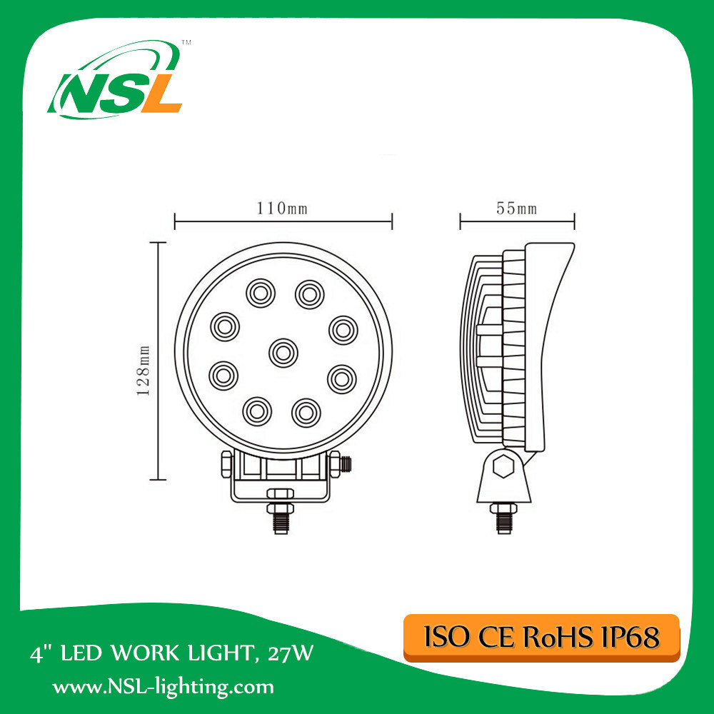 LED Work Light Wholesale Cheap Price for Trucks Forklift Cars