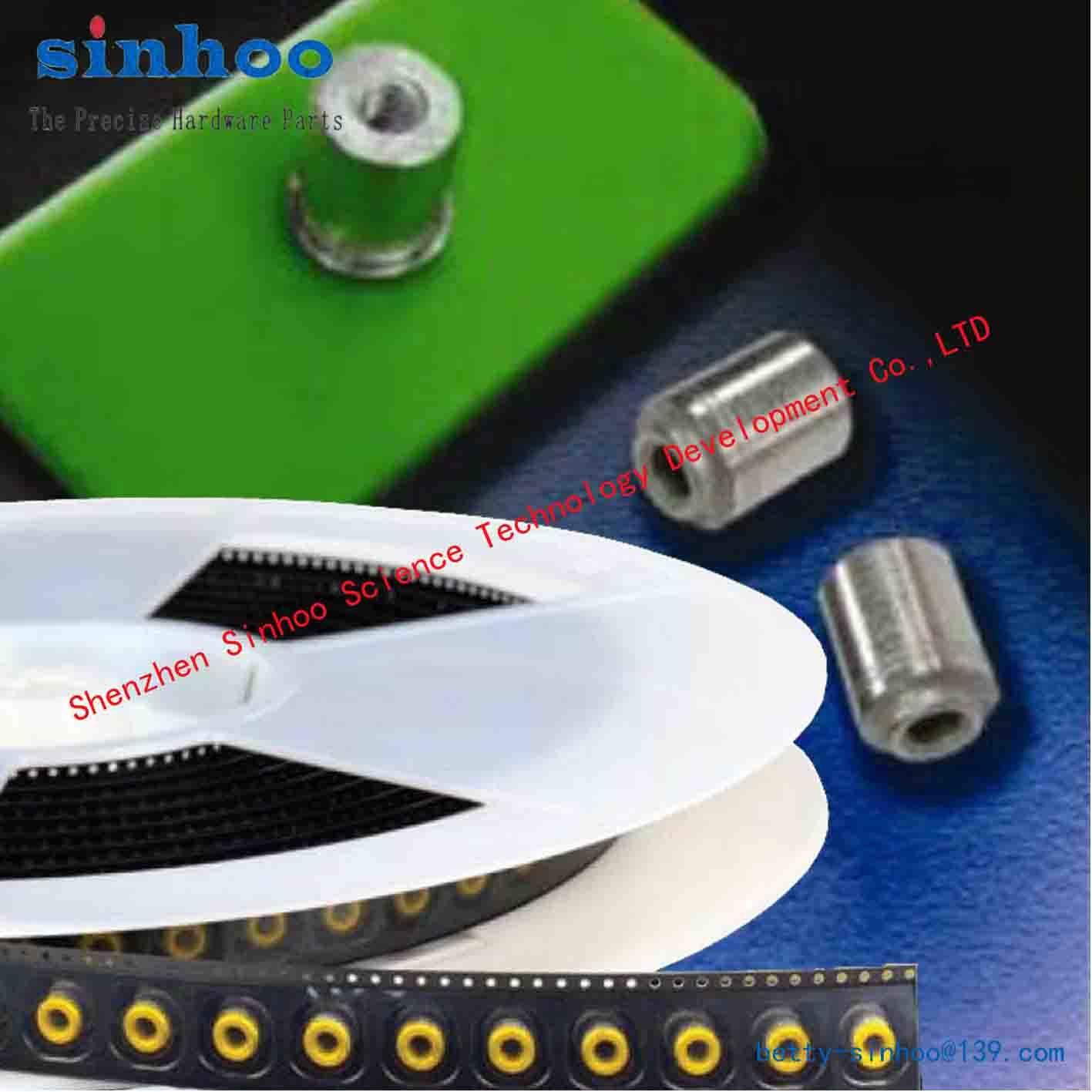SMD Nut, Weld Nut, Smtso-M2-3et/Reelfast/Surface Mount Fasteners/SMT Standoff/SMT Nut Steel Reel
