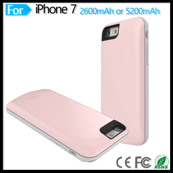Power Charger Battery Case Cover for Apple iPhone7 iPhone 7 4.7 Inch Mobile Phone Accessories