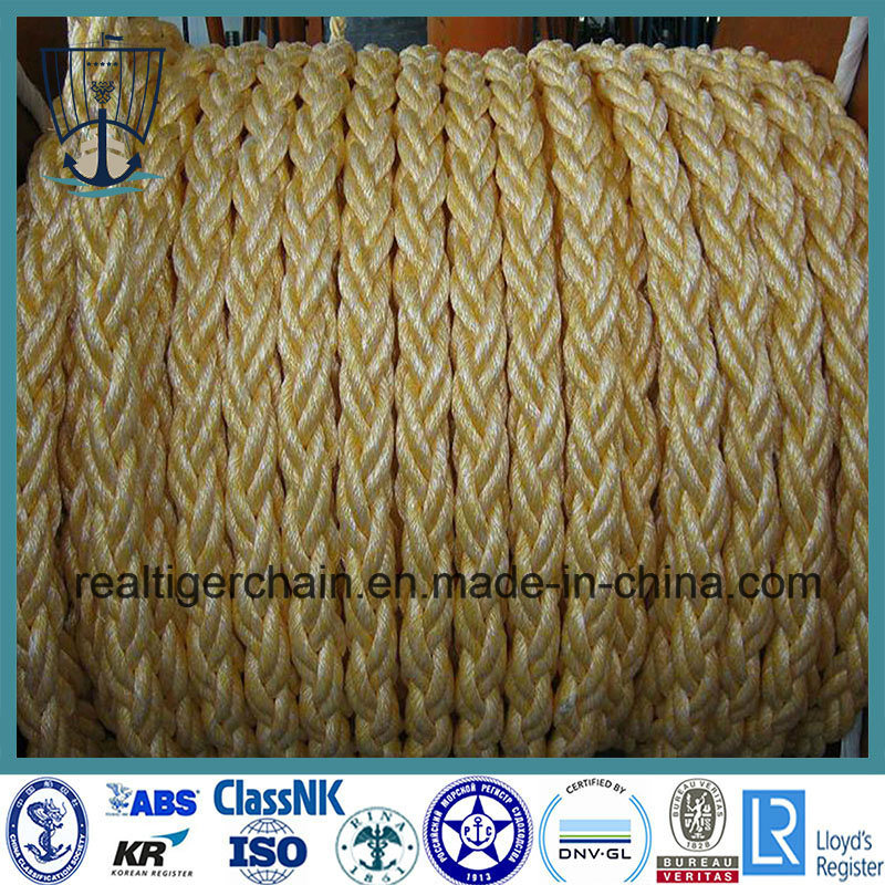 8 Strands Mooring Polypropylene Rope with Certificate