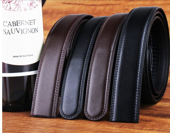 Holeless Leather Belts for Men (DS-170309)