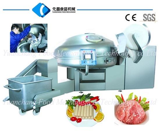 Vacuum Meat Bowl Cutter-Meat Chopper--Meat Cutter