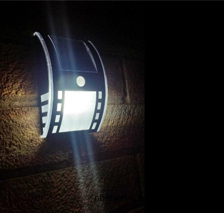 2016 Solar PIR Security Light for Pathway Garden Door (RS2005)