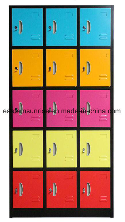 15 Door Steel Storage Wardrobe Clothes Locker