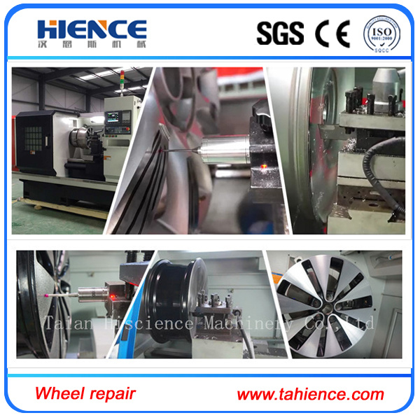 Alloy Wheel Cutting Repair CNC Turning Lathe Awr28h