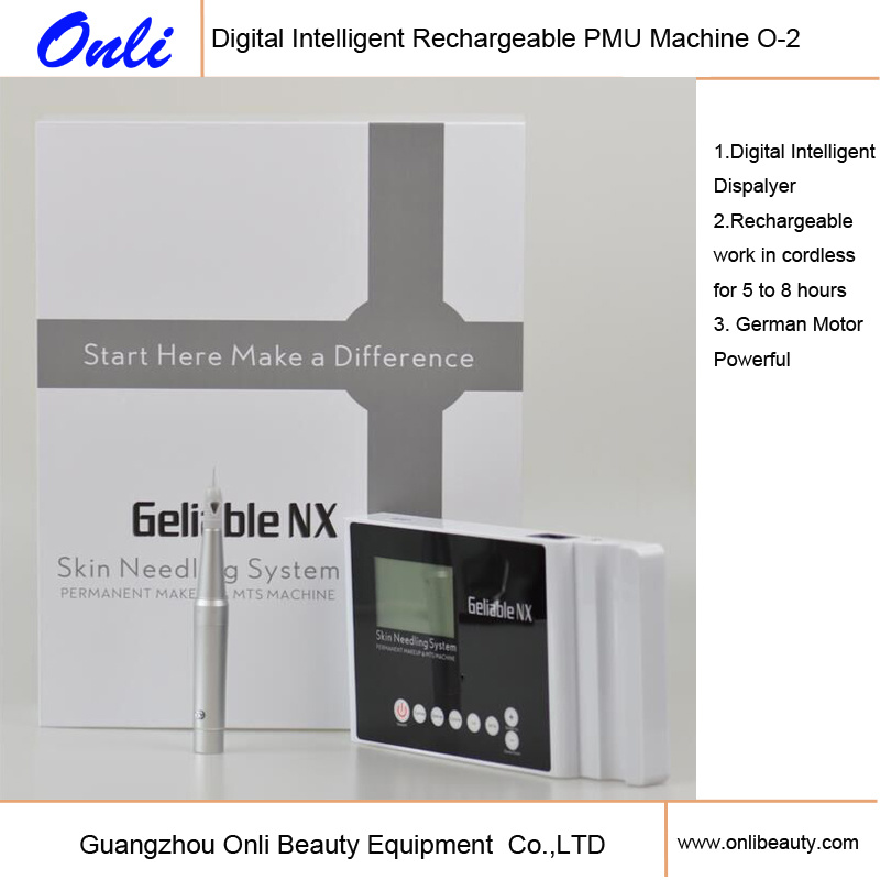 Digital Innovative Rechargeable Cosmetic Tattoo Skin Needling Machine