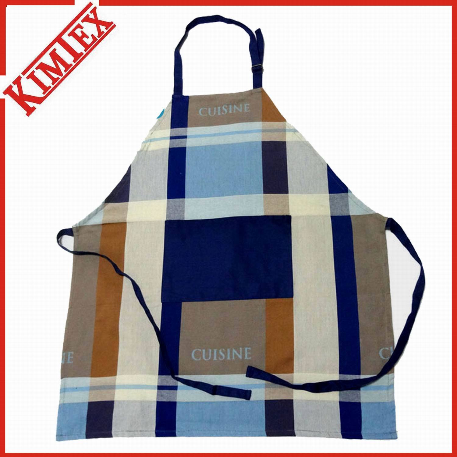 Customized Promotion Cotton Cooking Kitchen Apron