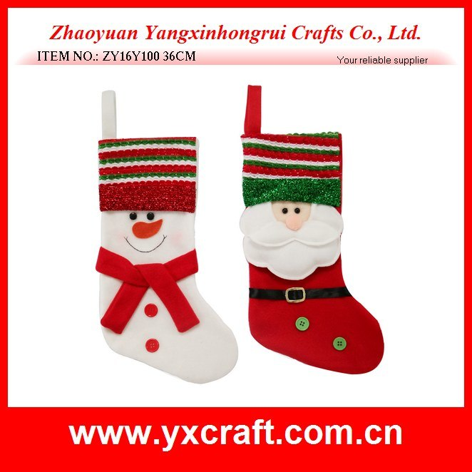 Christmas Tree Stocking / Sock Design Craft Decoration Ornament Gift