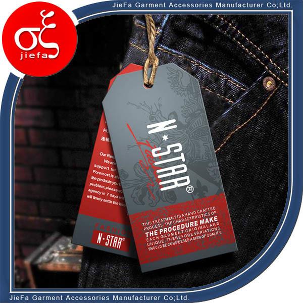 High Quality Hangtag for Garment