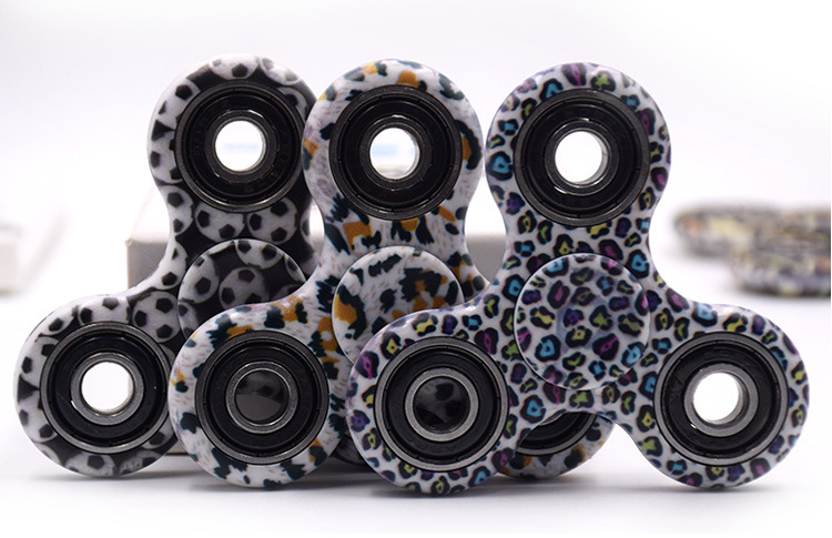 2017 Hot Fidget Toy Hand Spinner Plastic Camouflage Spinner