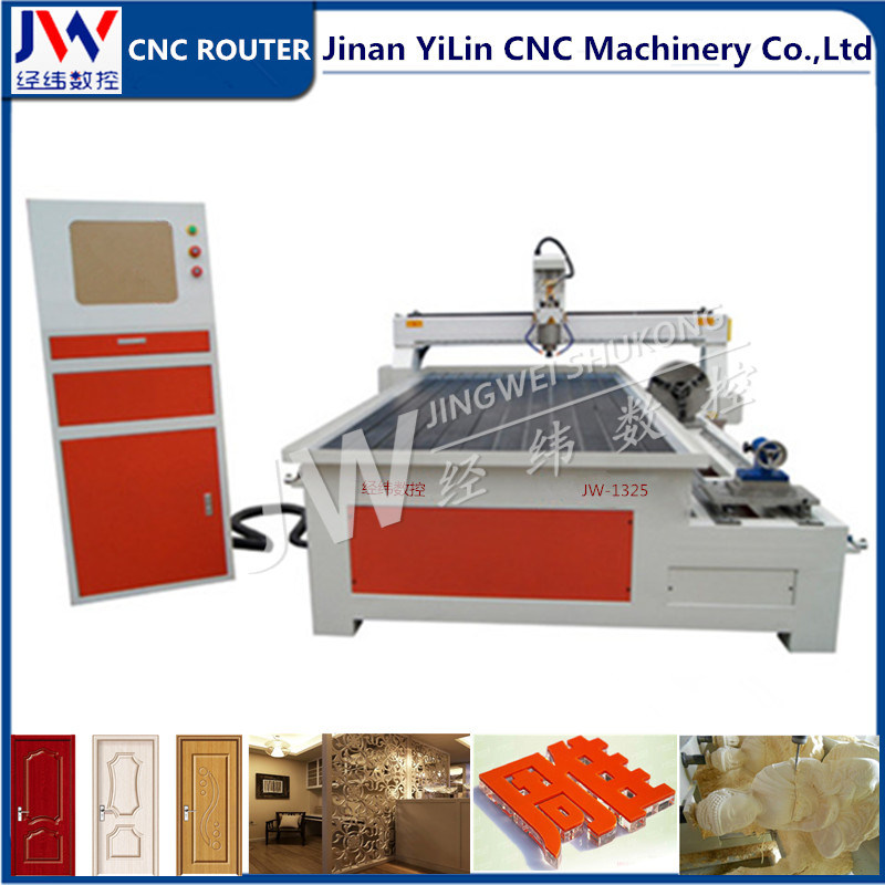 1325 Multi-Function Woodworking Stone CNC Router with Rotary Axis