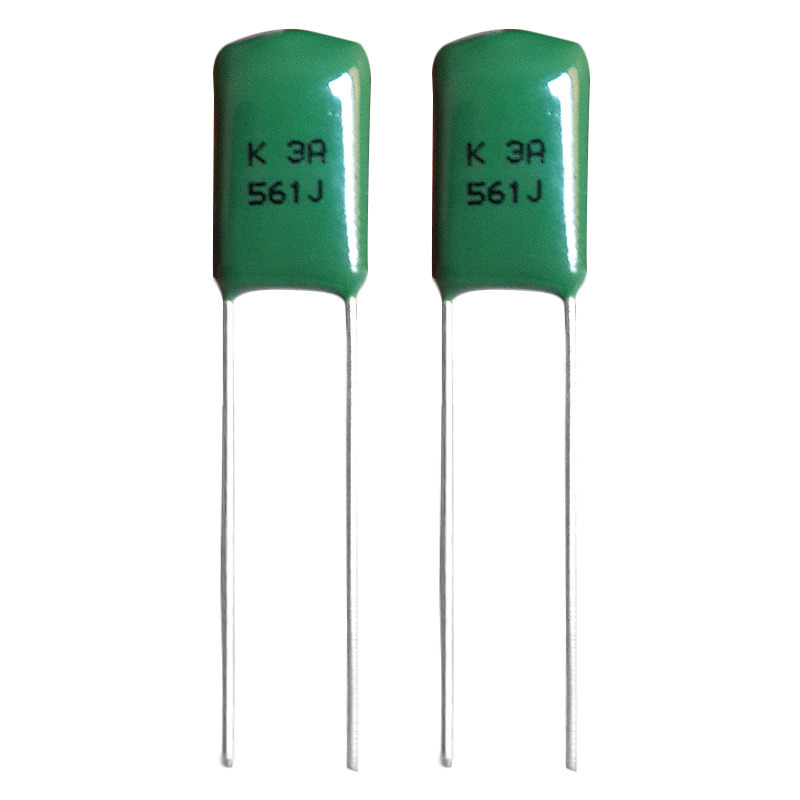 DIP Metallized Polypropylene Film Capacitor Cbb21