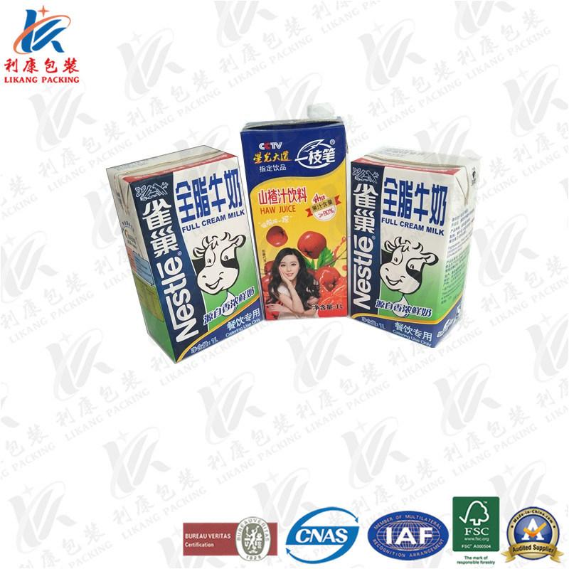 1L Aseptic Brick Carton Used on Milk and Juice